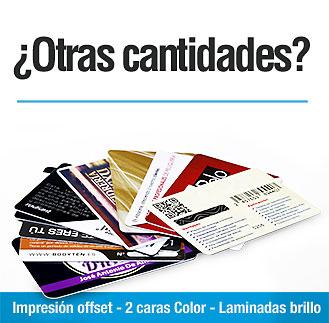 Precios tarjetas plásticas Precios tarjetas PVC