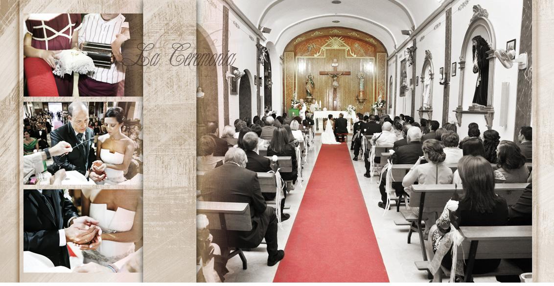 Fotografías Boda Juan Manuel y Noemí, collage fotografías boda ceremonia