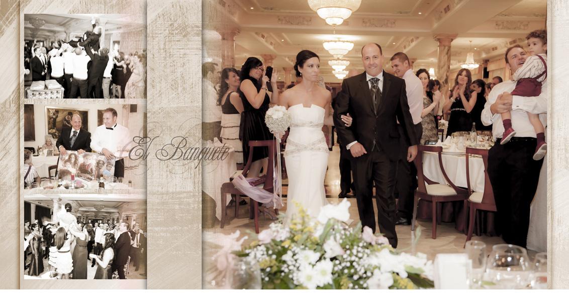 Reportaje fotográfico Boda Juan Manuel y Noemí, fotografías boda banquete