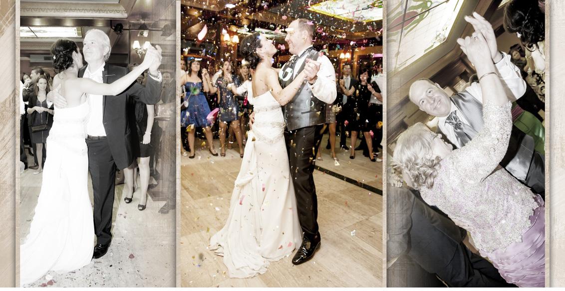 Reportaje fotográfico Boda Juan Manuel y Noemí, fotografías boda 1er baile