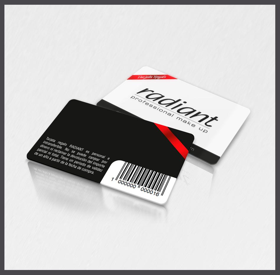 Tarjetas con datos variables y acreditaciones, tarjetas con datos que varían
