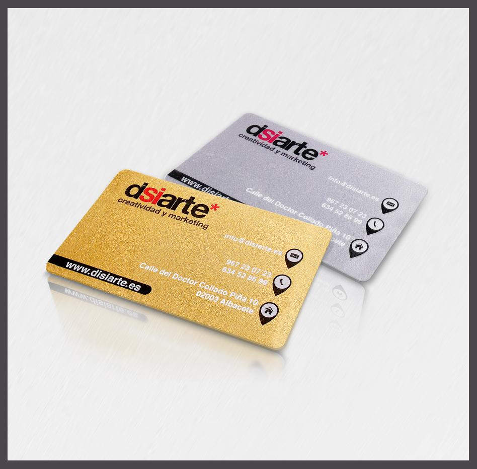 Tarjetas pláticas con fondo oro tarjetas PVC con fondo plata