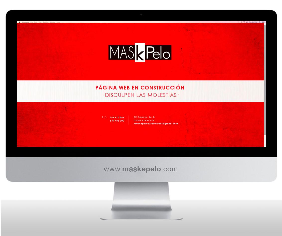 Diseño web, diseño tienda online Maskepelo