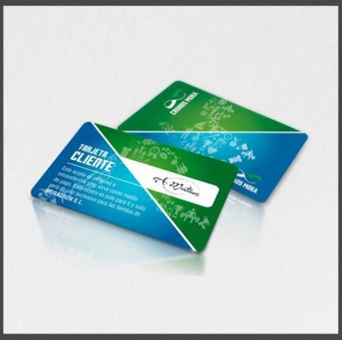 Tarjetas con panel de firma, fabrica de tarjetas con panel de firma