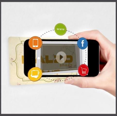 Tarjeta plásticas con realidad aumentada, diseño de tarjetas de PVC
