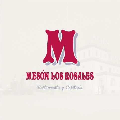 Diseño grafico restyling logotipo diseño e impresion cartas Restaurante Los Rosales